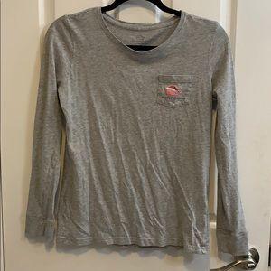 Vineyard Vines T Shirt Santa Edition